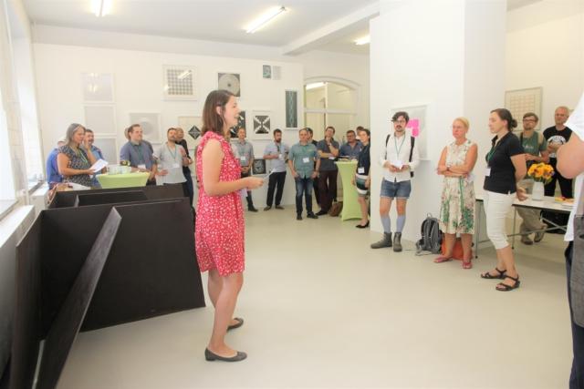 Qualmende Köpfe auf dem Ideenworkshop in Gera