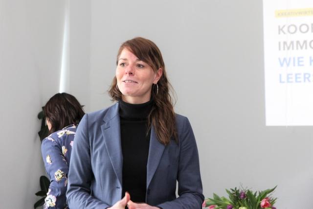 Claudia Muntschick während ihres Vortrages