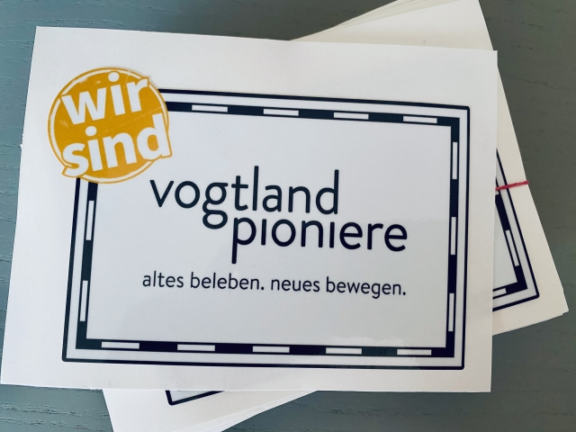 Sticker Vogtlandpioniere