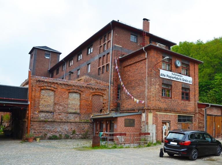 Alte Papierfabrik Greiz