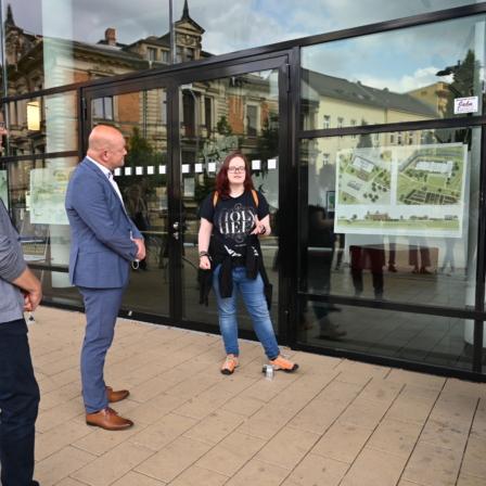 Zukunftsvisionen für das Aubachtal - Ausstellung Urban by Landscape
