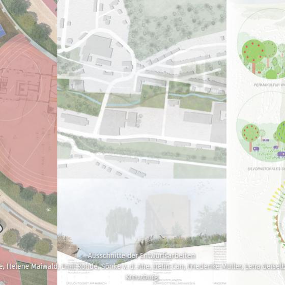Greiz: Urban by Landscape - Ausstellung in der Vogtlandhalle