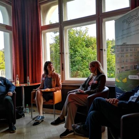 Wie finden die Innovationen aus dem Bündnis Vogtlandpioniere ihren Weg in die Region?