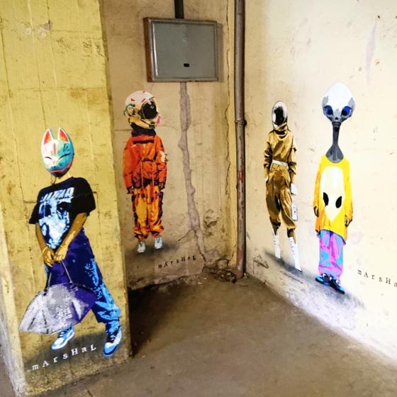 Zum Niederknieen: Urban Art Festival ibug 2021 in Flöha